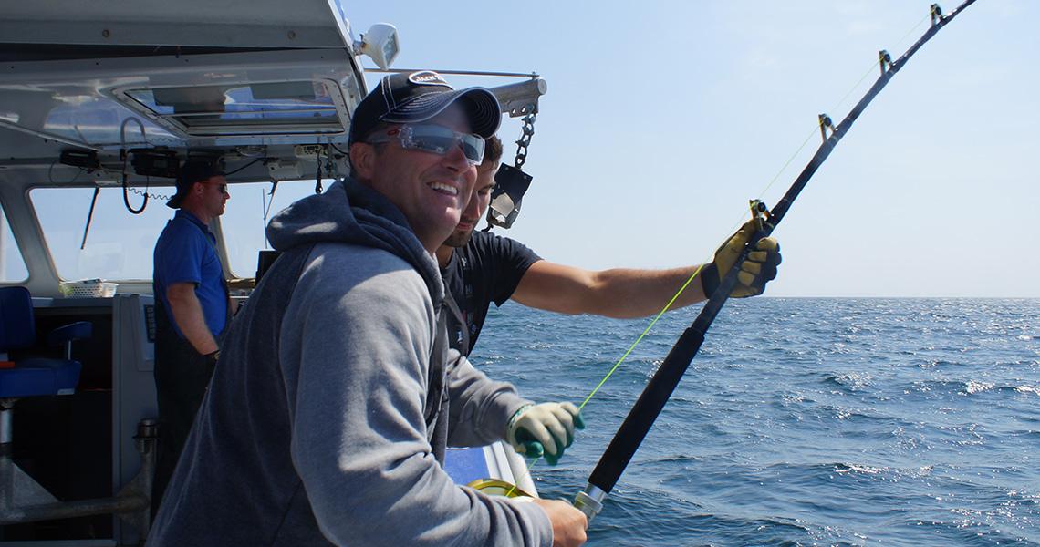 Scott Bruce Tuna Fishing